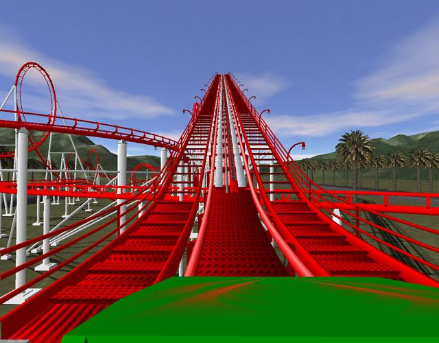 К игре рельсы в небо hyper rails advanced 3d roller