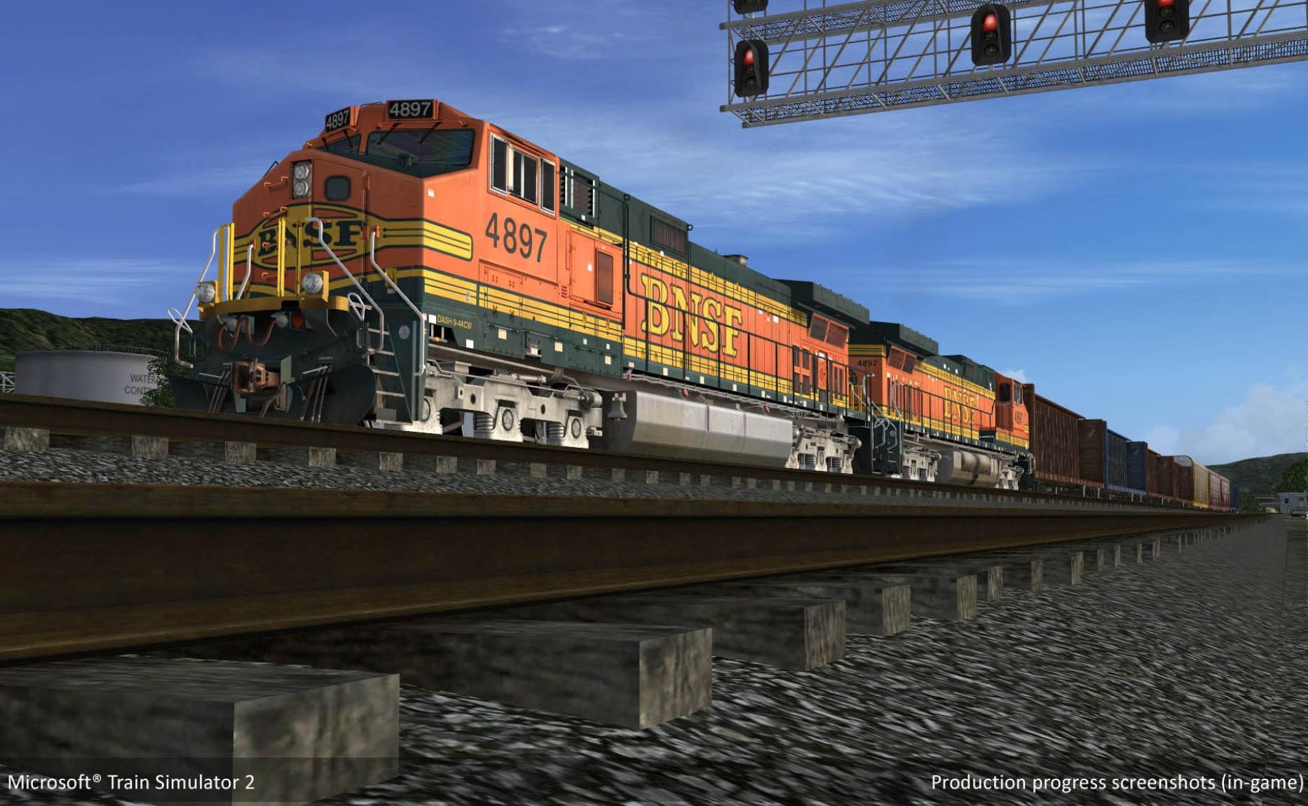 Скриншоты для игры Microsoft Train Simulator 2 (2009)