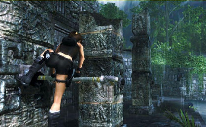 Скриншоты из игры Tomb Raider: Underworld.