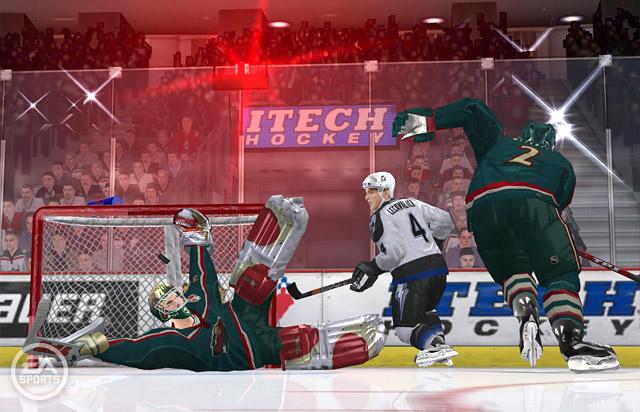 Скриншоты для игры NHL 06 , Скриншоты игры на Igroport.ru