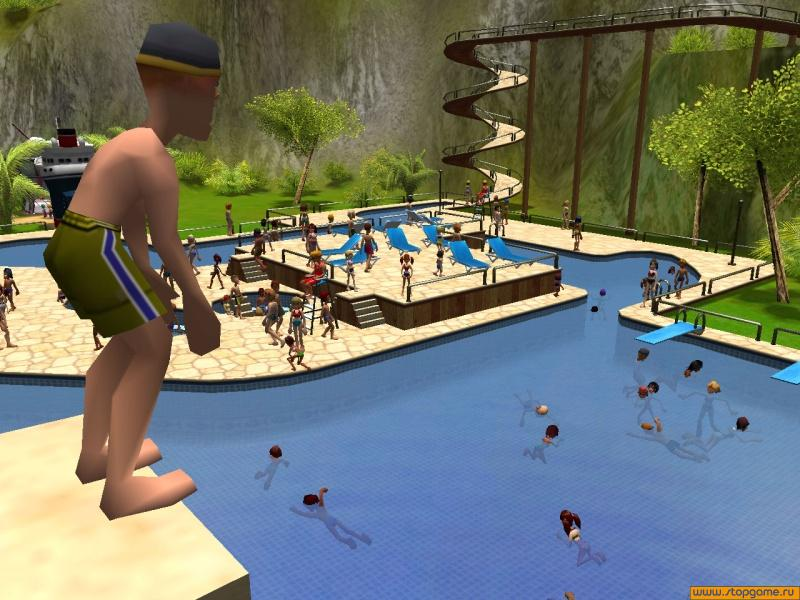 Screens Zimmer 1 angezeig: roller coaster tycoon 3 trainer