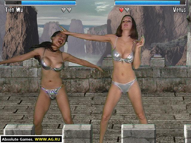 Скриншоты для игры Бабцовский клуб: В бикини и без Bikini Karate Babes