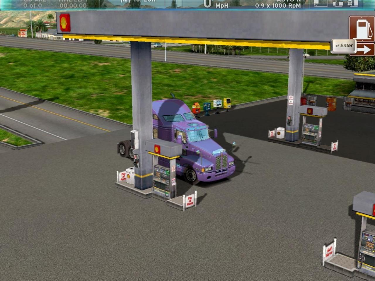 Скриншот из игры rig