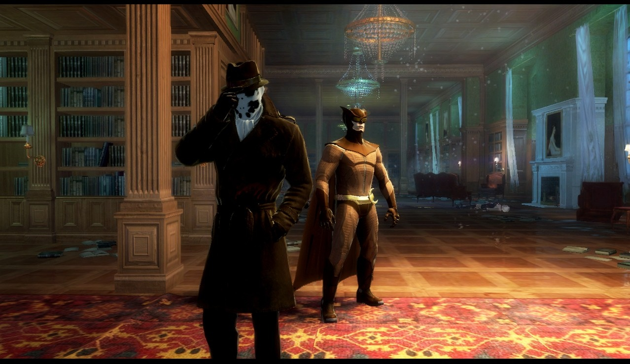 Image watchmen : the end is nigh - jeux vid0e9o xbox 360