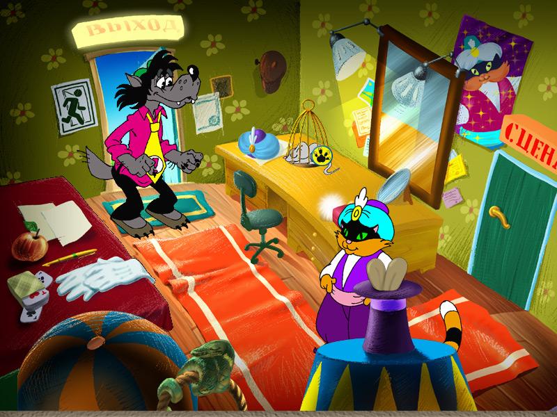 Ну, погоди!  Выпуск 3. Песня для зайца - полная русская версия - PC - ПК игры...