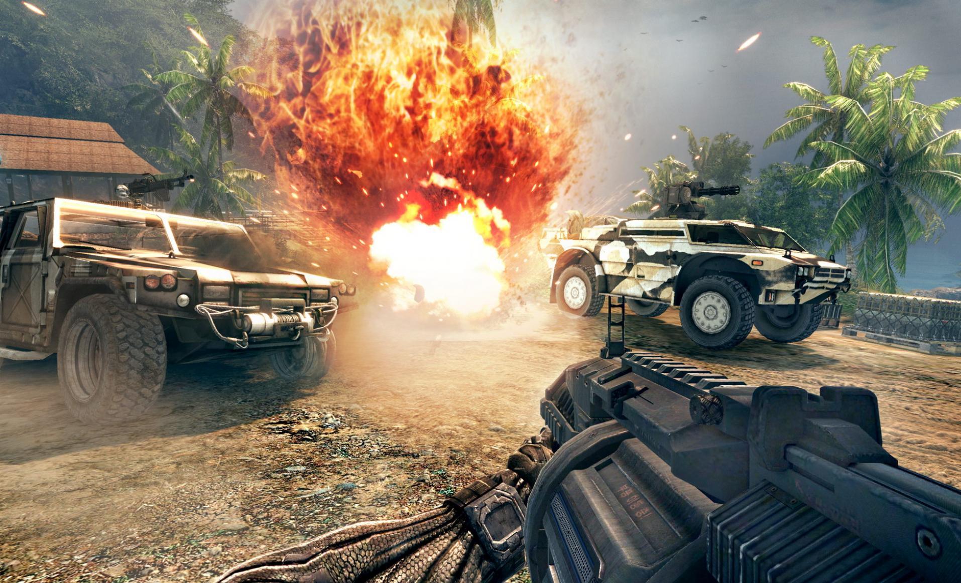 Скриншоты для игры Crysis Warhead.